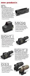 BISON. Лазерные,  голографические,  коллиматорные прицелы EOTech.